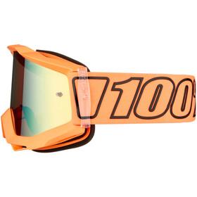 100% Accuri Anti Fog Mirror Goggles, luminari